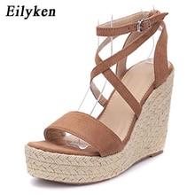 Eilyken New Women Gladiator Wedges High heel Sandals shoes W