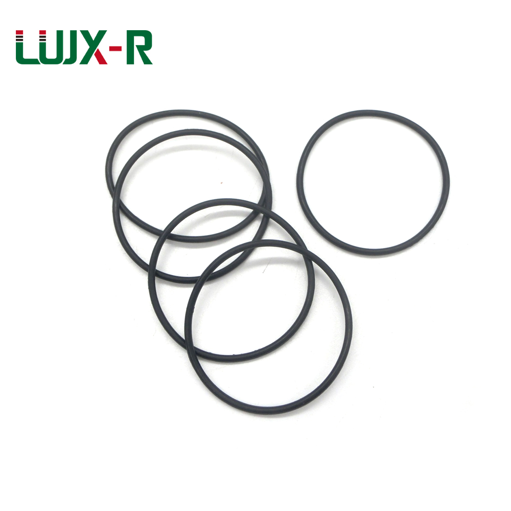 LUJX-R 5pcs Thickness <font><b>7mm</b></font> Rubber <font><b>O</b></font> <font><b>Ring</b></font> Seal Washer OD38/50/60/71/76/86/90/96~125mm NBR <font><b>O</b></font>-<font><b>Ring</b></font> Sealing Oil Proof Seal Gasket image