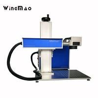 Fiber Laser Engraver Manufacture Price Metal Marking Machine Portable 20w 30W Fiber Laser Marking Machine