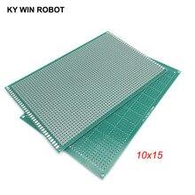 1 шт. 10x15 см 100x150 мм Односторонний Прототип PCB универсальная печатная плата для Arduino