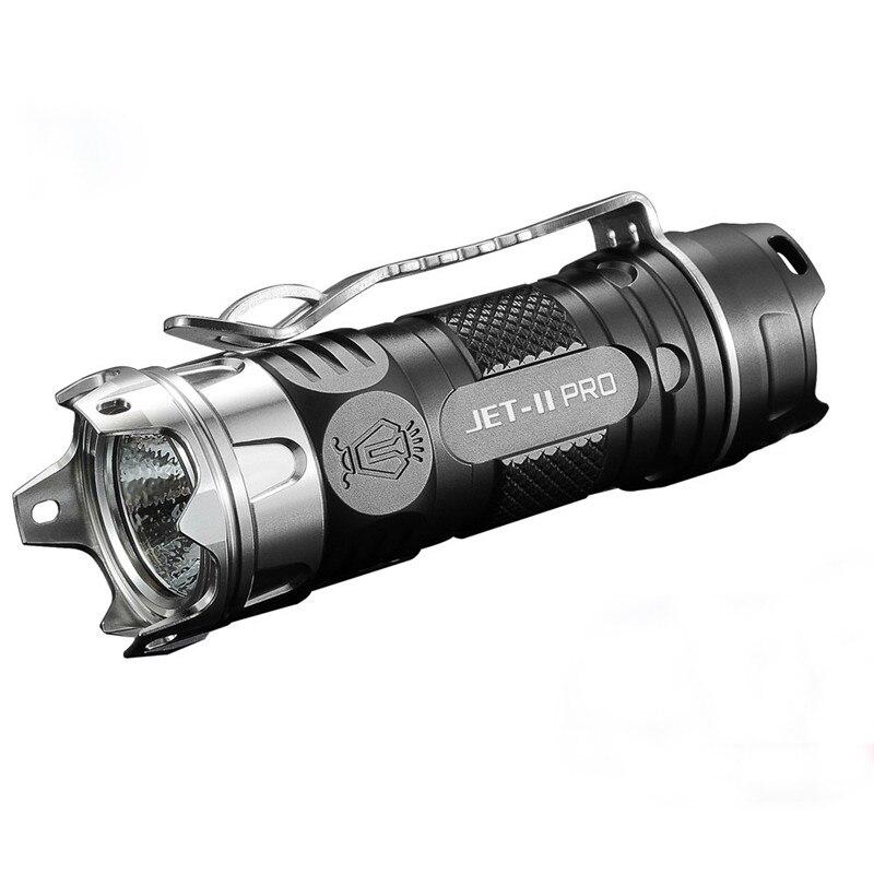 Cycling Bike Head Front Light Bicycle Light JETbeam II PRO TI  XP-L HI 510Lumens 16340 EDC LED Flashlight M1