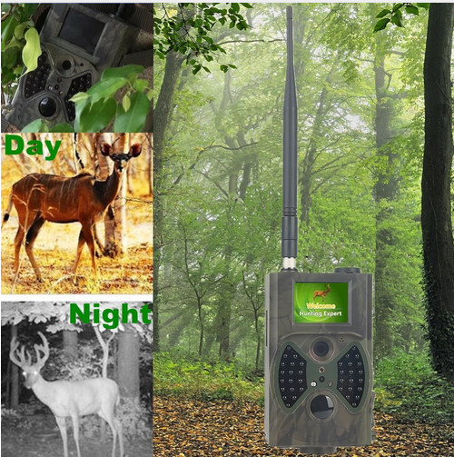 все цены на Nigh vision no glow mms sms gsm outdoor wireless scout guard hunting trail camera HC-300M