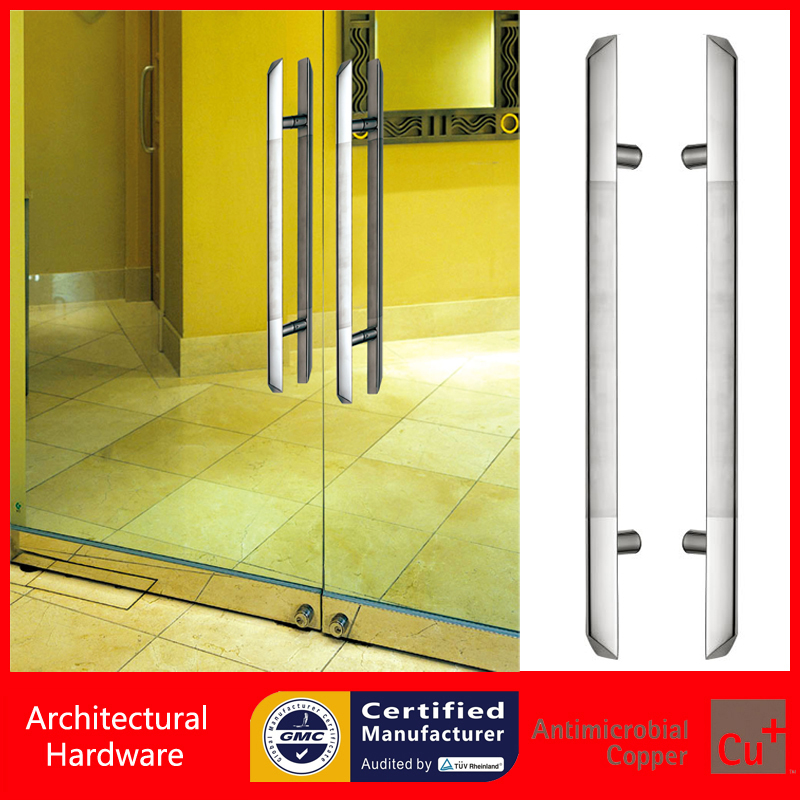 High Quality Entrance Door Handle Snake Type Stainless Steel Pull Handle For Wooden/Frame/Glass Doors PA-142-40*800mm 2000mm length square tube golden entrance door handle stainless steel pull handles for wooden metal glass doors pa 637