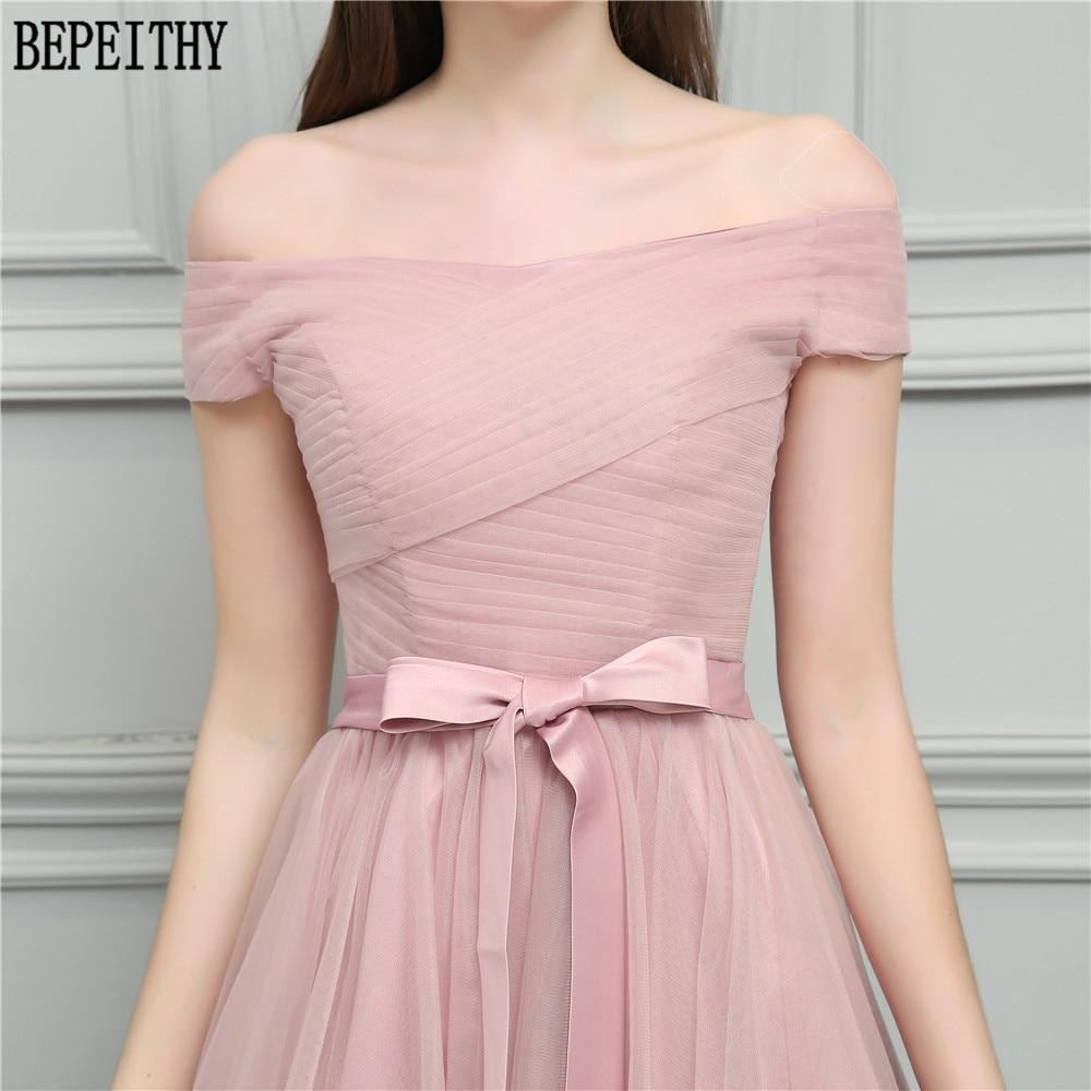 ᗜ LjഃBepeithy vestido de festa Longo 2018 nuevo diseño barco ...