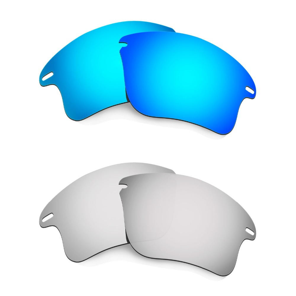 HKUCO Mens Replacement Lenses For Oakley Wind Jacket - 2 pair 03VZSpcqC