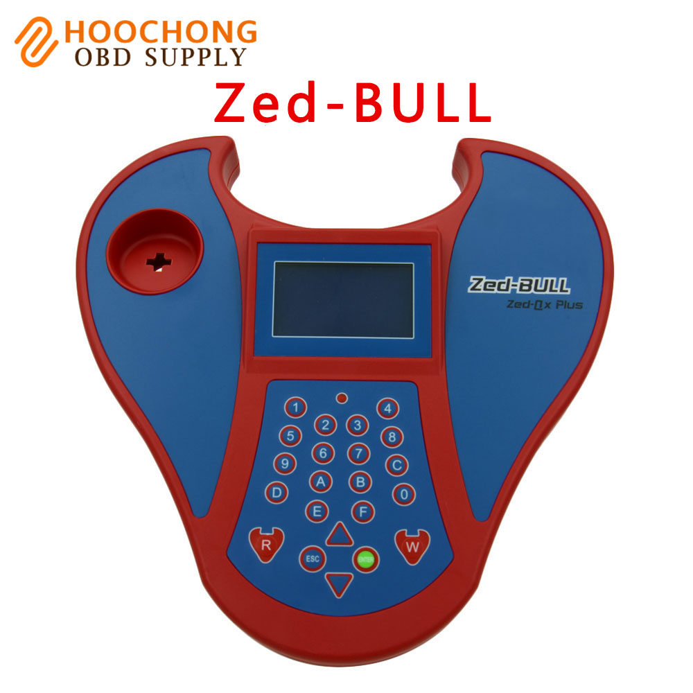 2017 Professional Big Zed-Bull V508 ZEDBULL Key Programmer Zed Bull High Quality Transponder Clone Key Programmer mini smart zed bull multifunction car keys matching instrument red blue