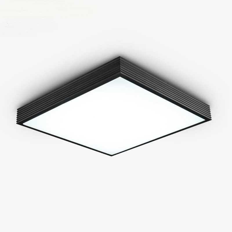 Aluminum Ceiling lights creative Modern office lighting rectangular bedroom living room lamp Ceiling lamp LED study lamps modern office light pendant lights simple led office long strip aluminum rectangular commercial lighting market ultra thin lamps