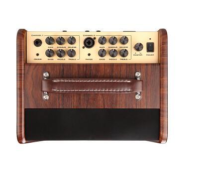 nux new stageman ac50 acoustic guitar amplifier digital fx jam function 50w in guitar parts. Black Bedroom Furniture Sets. Home Design Ideas