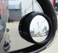 Livre transferência Small Round Rotating MirrorThe Convexo Espelho Retrovisor Do Carro Espelho Plano