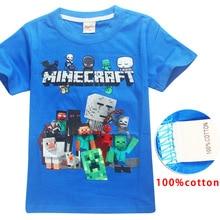 Hot Sale New 2018 Cartoon Minecraft T Shirts My
