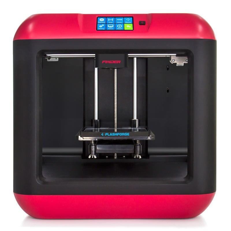 Flashforge 3D Printer Finder Diy 3D Printer Kit Auto Leveling Removable platform Single extruder with 1