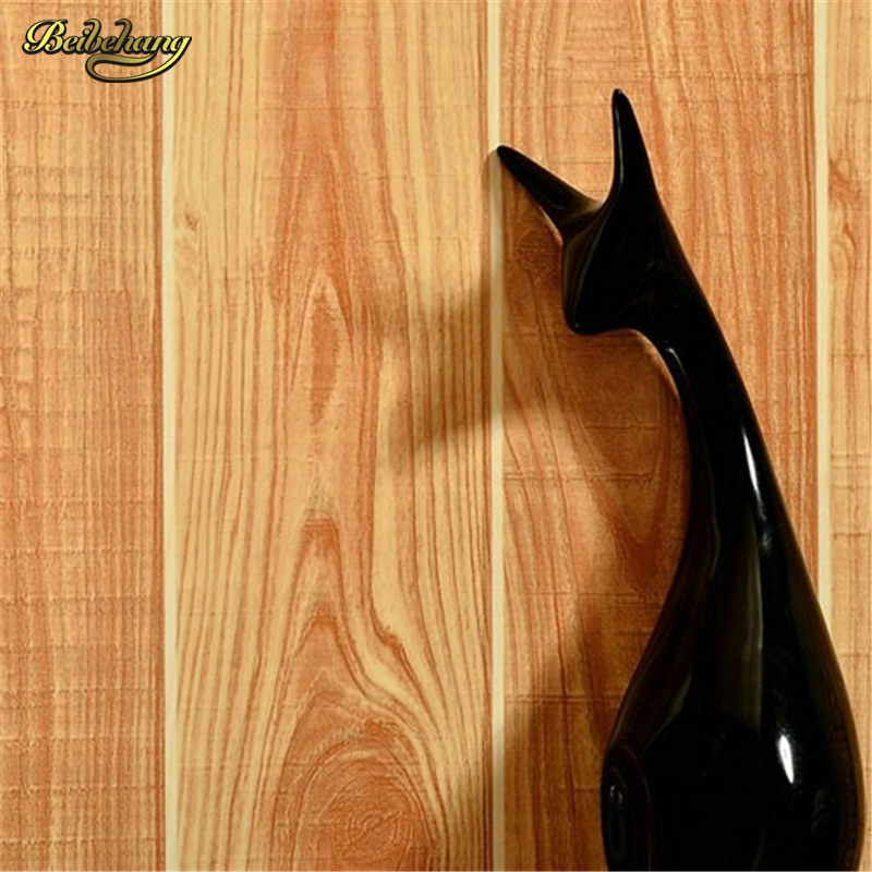 Beibehang Roll Warm Simple Of Floor Vinyl Wood Panel 3d
