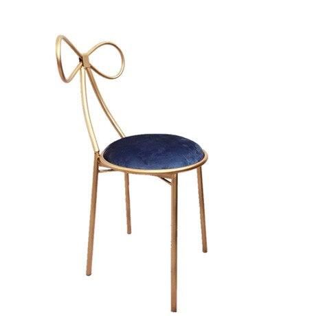 Гостиничные стулья, гостиничная мебель, коммерческая мебель, железные стулья в американском стиле, современные 75 см/45 см,, новинка - Цвет: 45cm
