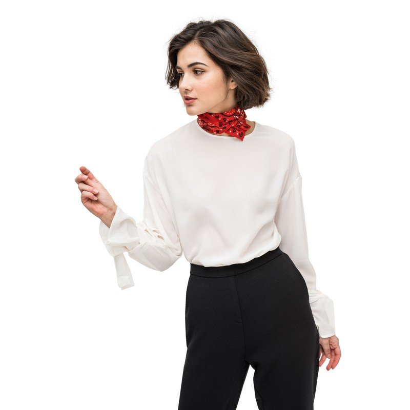 Blouses & Shirts befree 1731534370 woman polyester shirt long sleeve women clothes apparel  blusas for female TmallFS кроватка sweet baby delizia avorio слоновая кость с маятником 383065
