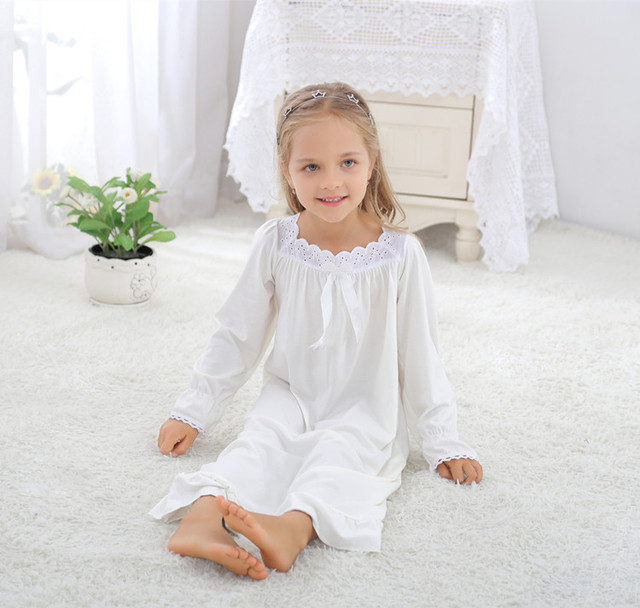 Kids Nightgown Kids Night Dress Girls Sleep Wear Kids Nighty Cotton  Nightgown Girls 8248 b5c257f3b