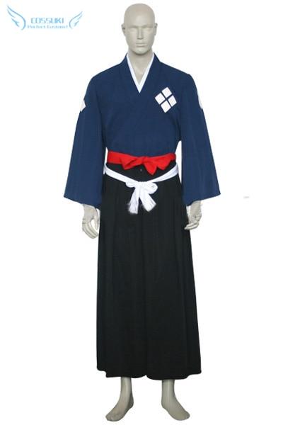 Newest High Quality Samurai Champloo Jin Kimono Cosplay Costume Perfect Custom For You