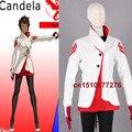 New Game Team valor Candela Trainer Cosplay costume Custom Made