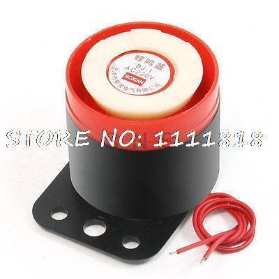 BJ-1 90dB AC 220V Siren Sound Emergency Alarm Electronic Buzzer
