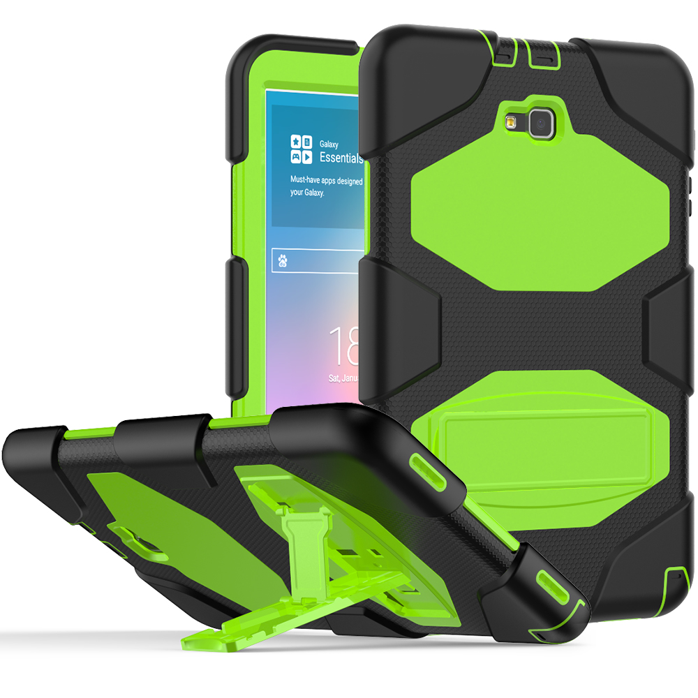 Tab A <font><b>10.1</b></font> SM-T580 <font><b>Case</b></font> <font><b>Kids</b></font> Heavy Duty Silicone PC Back Cover For Samsung Galaxy Tab A6 A 6 2016 <font><b>10.1</b></font> T585 T580 T580N <font><b>Tablet</b></font> image