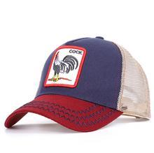 8 Kinds of embroidery animal Baseball Caps men Breathable Mesh Snapback caps Unisex sun hat for women bone Casquette Hip Hop cap цена