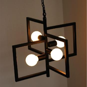 Vendimia luces de techo industrial loft luces comedor Lámparas ...