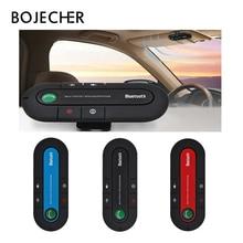 50 шт./лот, солнцезащитный козырек, Bluetooth, динамик, телефон, MP3, музыкальный плеер, беспроводная гарнитура, автомобильный комплект, Bluetooth приемник, динамик, автомобильное зарядное устройство