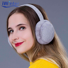 Iwinter 2018 New Design Winter Earmuffs For Women Girls Boys Fur Earmuffs Warmers Winter Comfortable Warm Winter Earmuffs