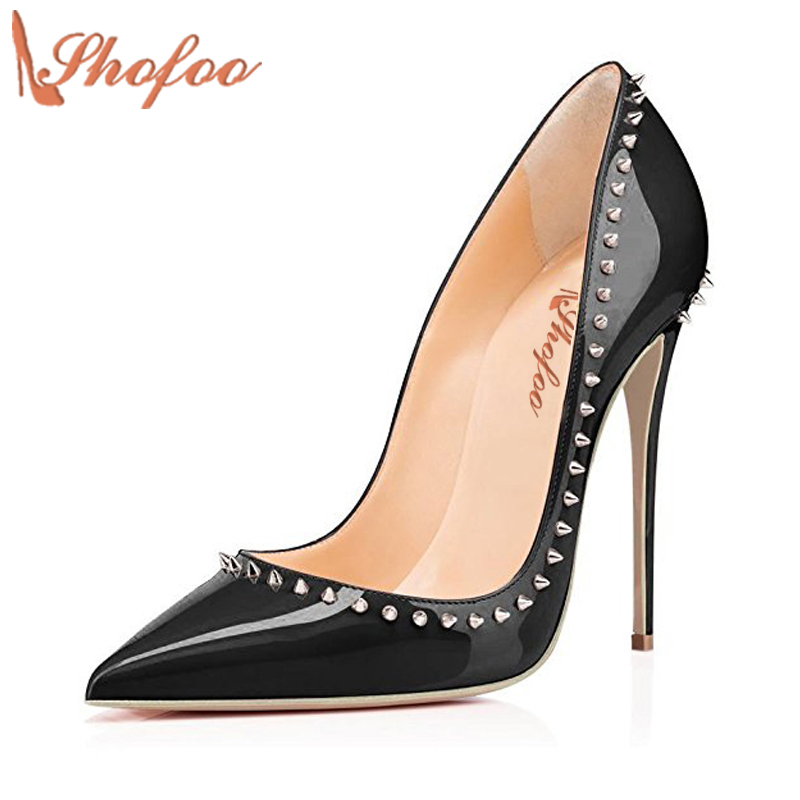 Women Dress Shoes Bridals Wedding Shoes Fetish Shoes High Heels Fashion Pumps Top Qualtiy Large Size 4-16 Shofoo Designer siketu 2017 free shipping spring and autumn women shoes fashion sex high heels shoes red wedding shoes pumps g107