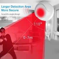 SmartYIBA Z-wave PIR датчик движения обычная версия инфракрасный детектор приложение управление ночное видение 720 P HD для домашней автоматизации