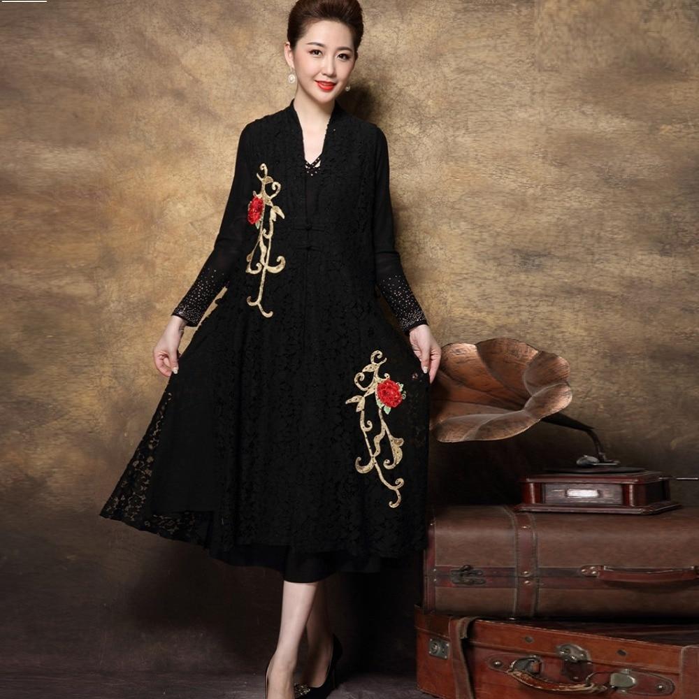 Vestito Elegante Donna New Look Embroidered