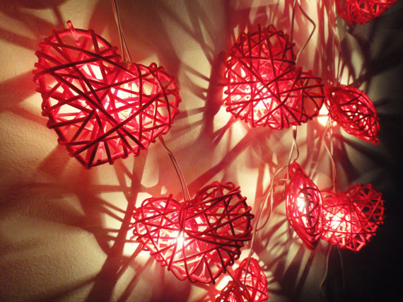 35x Red Heart Rattan String Patio Decoration Bedroom Living Room Wedding Light Fairy Lights Valentine Gift On Aliexpress Alibaba Group