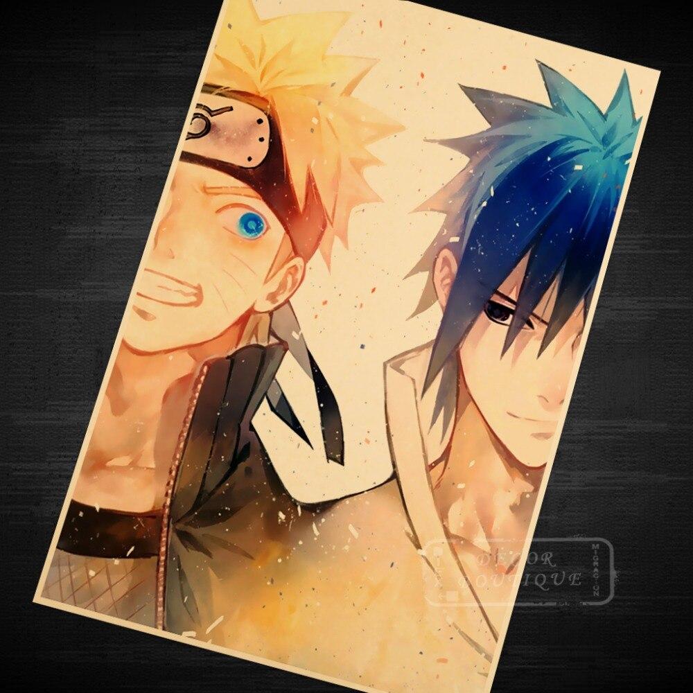 Confident Naruto and Sasuke Ninja World Masashi Kishimoto Naruto ...