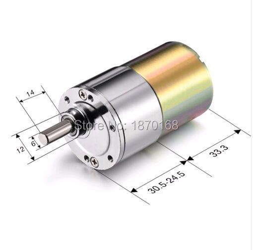 цена на ZGB37RG 20RPM - 1500RPM DC 24V DC 12V 1000RPM Gear Motor High Torque Electric Reduction Gearbox Eccentric Output Shaft 120RMP