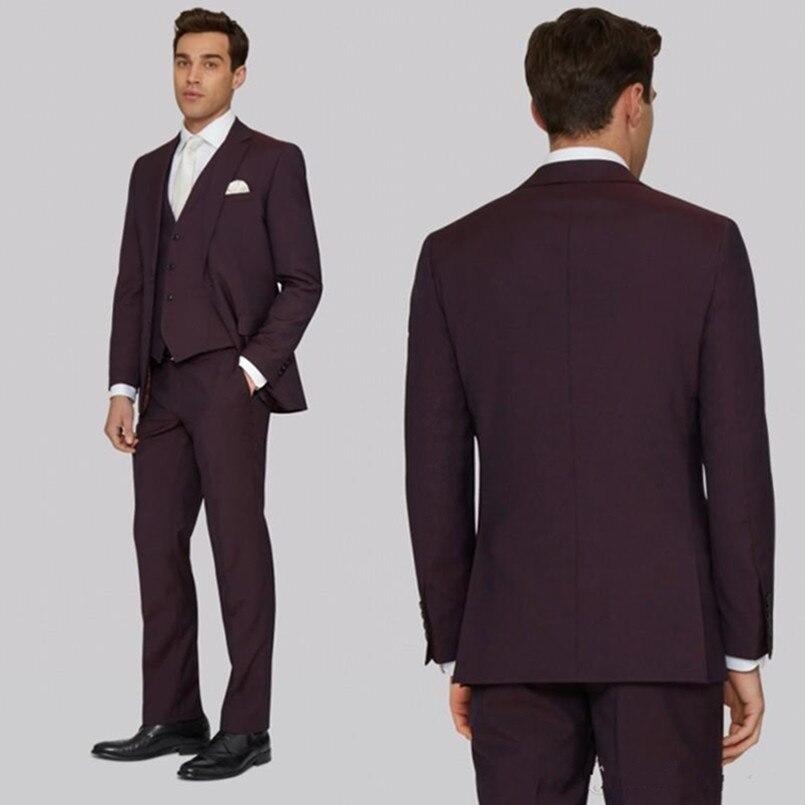 handsome-men-suifor-wedding-three-pieces-dark-burgundy-groom-bridal-suits-custom-made-groomsmen-suits-jacket+vest+pants_