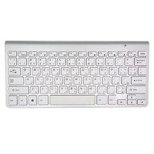 Арабская клавиатура ультра-тонкая беспроводная клавиатура немой Высокое качество 2,4 г клавиатура для Apple стиль окна Mac XP 7 10 Android tv Box