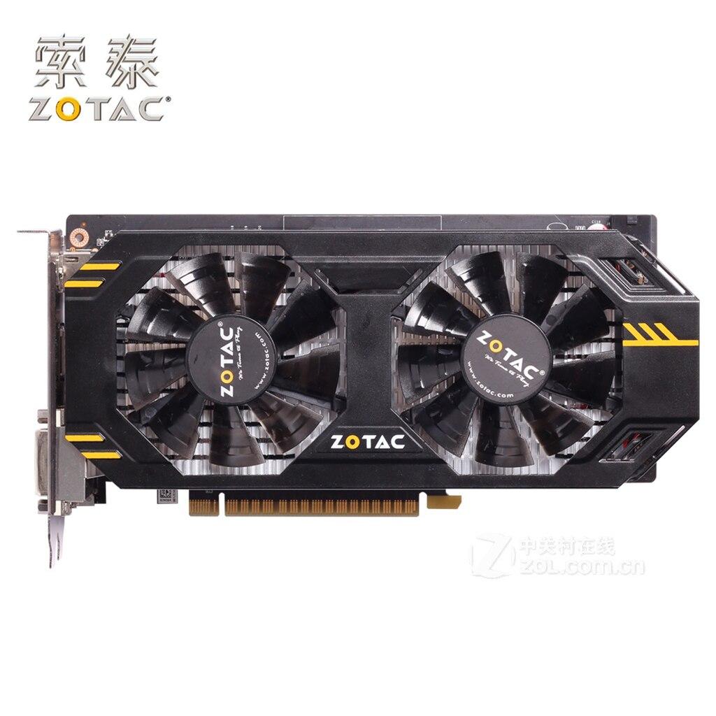 ZOTAC Video-Card Thunderbolt Nvidia-Map Gtx650ti-Used Geforce 650 Ti GDDR5 1GD5 128bit
