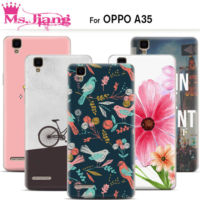 Online Shop Case For Oppo A35 Slim Ultra Thin Print Cover For Oppo