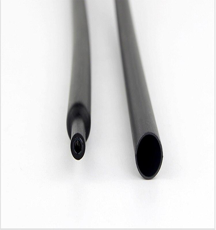 Термоусадочная трубка с клеем, комплект из 4/6/8/12/16/18/20/24/32/40/52 мм, передаточное Соотношение 4:1, двойной настенный клей