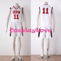 Cao cổ phiếu chất lượng Kuroko của bóng rổ Kuroko không Basuke Season 2 Taiga Kagami trắng Cosplay Costume bóng rổ Uniform