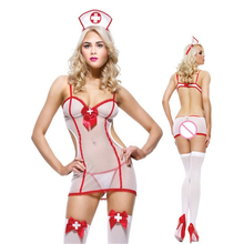 2016 Hot COSPLAY Sexy lingerie women costumes Sex Products underwear SM cosplay Teddy+Thongs erotic  ST172