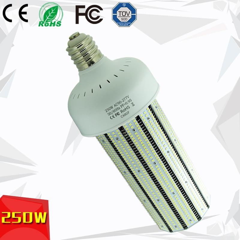 High Power Mogul Base 250W LED Corn Lamp 1000W Metal