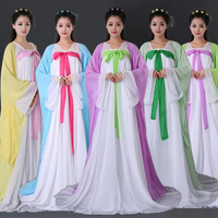 Women Cosplay Fairy Costume Hanfu Clothing Chinese Traditional Ancient Dress Dance Stage Wear Adult Classic Dresses DNV10945