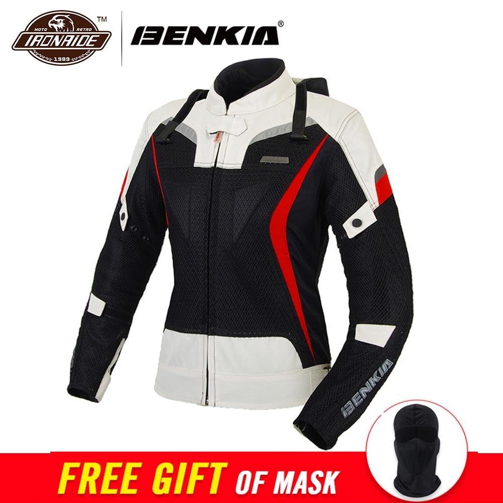 Giacca moto da donna BENKIA Giacche da moto Giacche da moto Jaqueta Motoqueiro Abbigliamento protettivo Abbigliamento da equitazione Donna