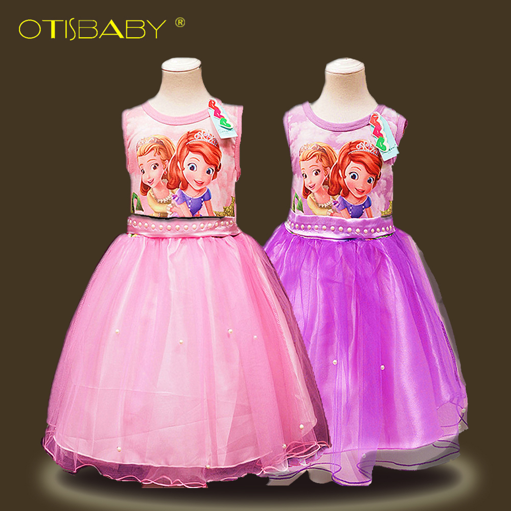 Sofia Little Pony Dresses Girl Princess Tutu Dress My Girls Sundress Clothes Kids Wedding Party Formal Clothes Birthday Costumes 2016 tulle tutu lace girls dresses princess costume kids clothes teenager girl dress 6 15 years birthday roupas infantis menina