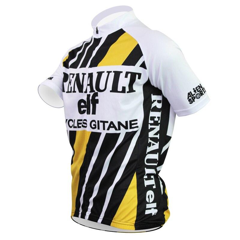 c1efb4f0c cycling jerseys 2018 New Renault Alien SportsWear Mens Jersey Cycling  Clothing Bike Shirt Size 2XS TO 5XL