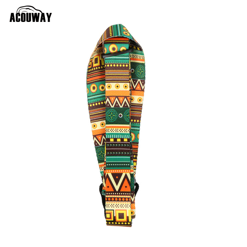 Acouway 46.5-74cm length Adjustable Nylon Ukulele Strap Belt Sling With Hook Guitarra Strap For Ukulele Guitar Parts Accessorie