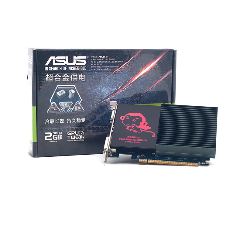 все цены на Full new, ASUS GT710-SL-2G mute graphics HDMI DVI VGA DDR3 онлайн