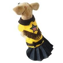 HU собака одежда платье футболки Французский бульдог рубашка собаки Домашние одежда комбинезон Щенок Чихуахуа куртка Мягкая домашних животных