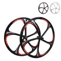 2015 MIEJUN 26 Inch Mountain Bike Wheels Diesha Peilin Bearing One Magnesium Alloy Wheels Hub Cassette