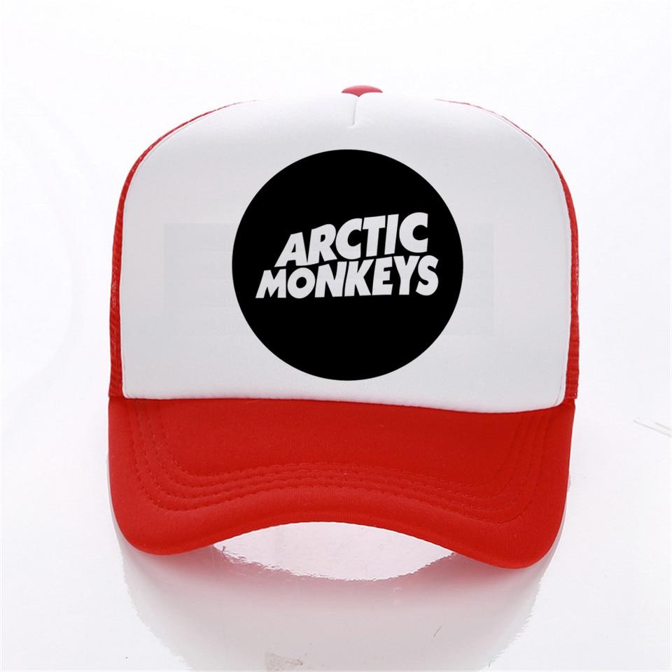 fashion Arctic Monkeys Rock music cap men Casual Brand Summer baseball caps women cap trucker cap Hip-Hop Hat Leisure hat